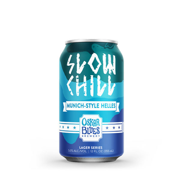 Oskar blues Slow Chill Helles