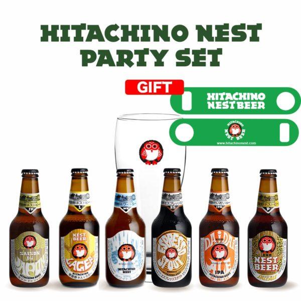 Hitachino-party-set