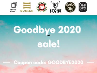 🎁 Goodbye 2020 Sale Starts Now! 🍻