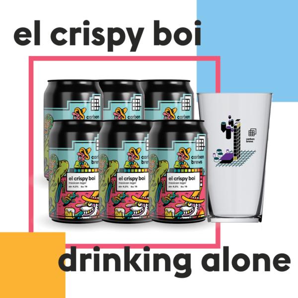 el crispy boi drinking alone
